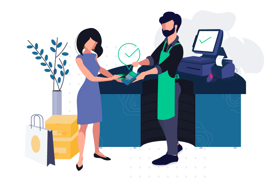 Point of Sales Illustration